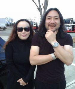 Keiko and Tsutomu Uchiya