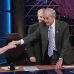 Ron Paul giving Masonic handshake