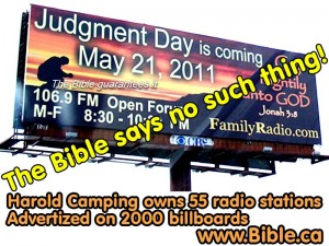 Harold Camping false pretribulation rapture