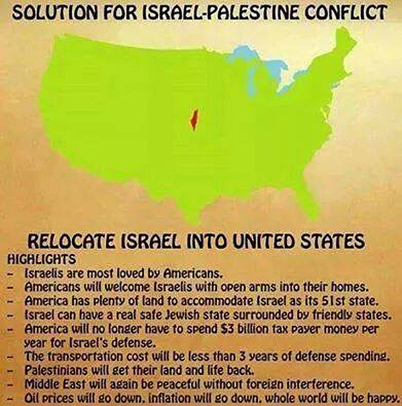 The best solution for the Israeli–Palestinian conflict