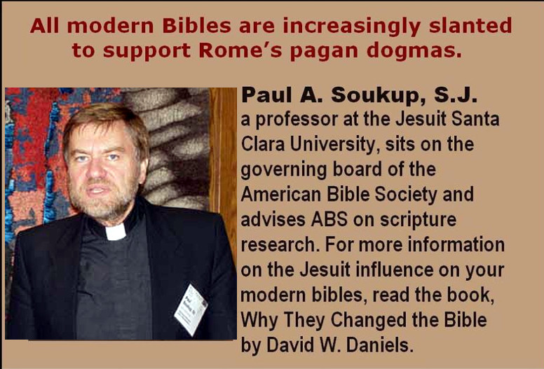 Jesuit a member of America Bible Society
